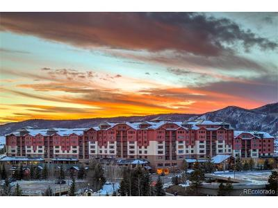 Steamboat Springs Condo/Townhouse Active: 2300 Mount Werner Circle #643 QIIA