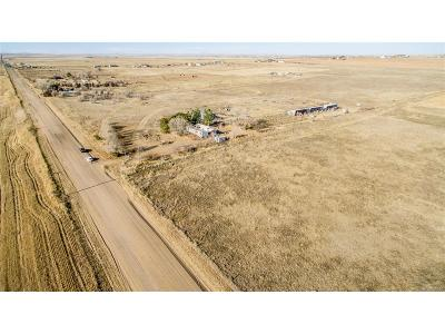 Arapahoe County Residential Lots & Land Under Contract: 49661 East County Road 30