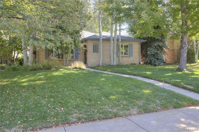 Denver Single Family Home Under Contract: 888 South Saint Paul Street
