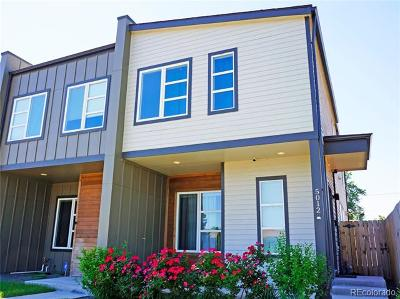 Denver Condo/Townhouse Active: 5012 East Thrill Place