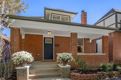 Denver Single Family Home Active: 538 South Washington Street