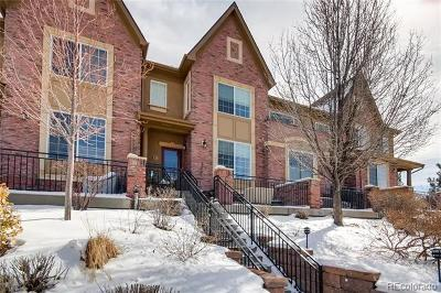 Highlands Ranch Condo/Townhouse Active: 1000 Rockhurst Drive #C