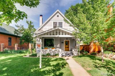 Single Family Home Under Contract: 909 South Clarkson Street