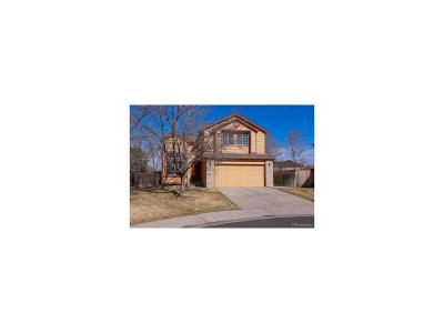 Highlands Ranch Single Family Home Sold: 9622 Whitecliff Place