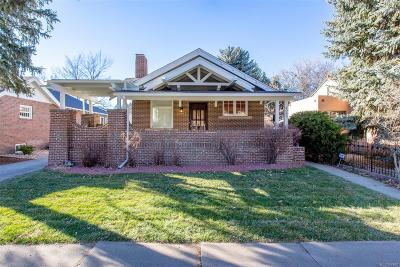 Denver Single Family Home Under Contract: 2065 Holly Street