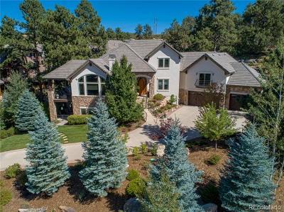 Castle Rock Single Family Home Active: 4980 Silver Pine Drive