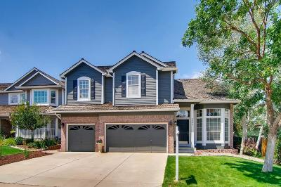 Lone Tree Single Family Home Active: 9866 Cypress Point Circle