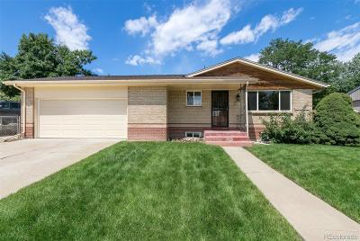 Denver Single Family Home Active: 5541 Shoshone Street