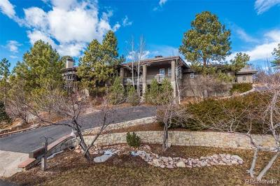 Castle Rock Single Family Home Active: 140 Capulin Place