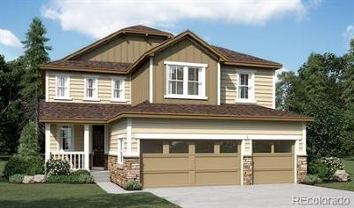 Parker CO Single Family Home Active: $594,242