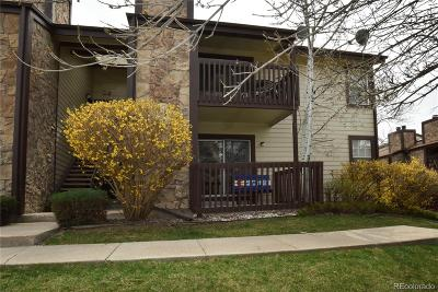 Arvada Condo/Townhouse Under Contract: 7830 West 87th Drive #A