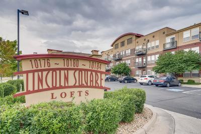Lone Tree Condo/Townhouse Sold: 10184 Park Meadows Drive #1320