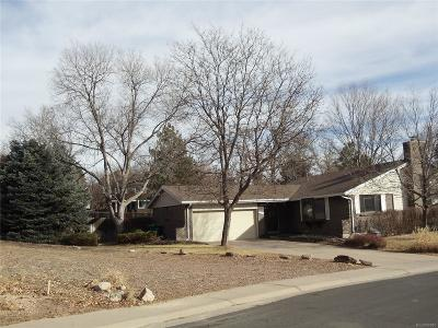 Centennial Single Family Home Under Contract: 4566 East Maplewood Way