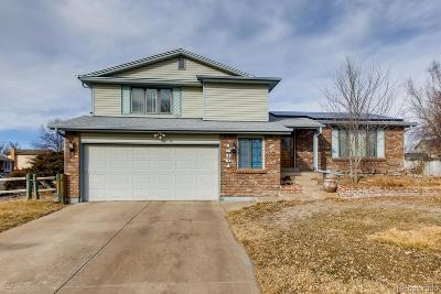 Aurora Single Family Home Active: 15801 East Tennessee Place
