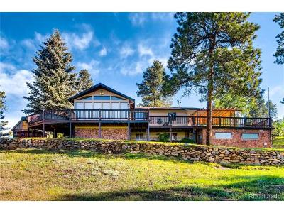 Conifer Single Family Home Active: 13716 Wamblee Trail