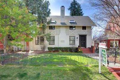 Denver Single Family Home Active: 315 North Humboldt Street