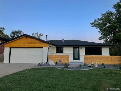 Wheat Ridge Single Family Home Active: 3360 Ward Road