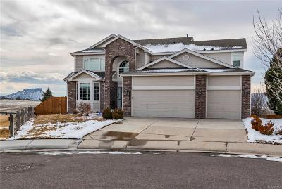 Castle Rock Single Family Home Under Contract: 3325 Shire Circle