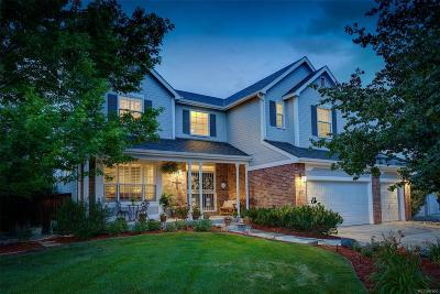 Highlands Ranch Single Family Home Active: 1807 Spring Water Lane