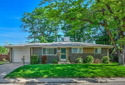 Arvada Single Family Home Under Contract: 10333 West 62nd Avenue