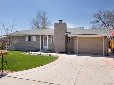 Broomfield Single Family Home Under Contract: 3460 West 132nd Place