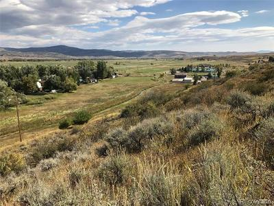 Hayden Residential Lots & Land Active: 39675 County Road 37