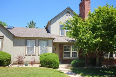 Littleton Condo/Townhouse Under Contract: 9696 West Chatfield Avenue #B