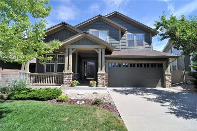 Highlands Ranch Firelight Single Family Home Under Contract: 3555 Craftsbury Drive