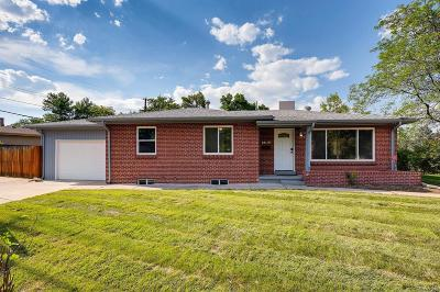 Lakewood CO Single Family Home Active: $385,000