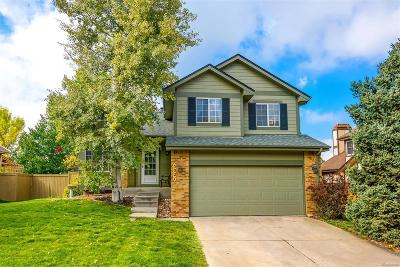 Castle Rock Single Family Home Under Contract: 5021 North Blazingstar Trail