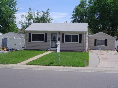 Denver CO Single Family Home Active: $265,000