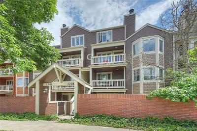 Boulder Condo/Townhouse Under Contract: 2240 Spruce Street #A