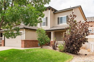Castle Rock Single Family Home Under Contract: 3487 Wonder Drive