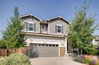 Castle Rock Single Family Home Active: 2500 Fairway Wood Circle