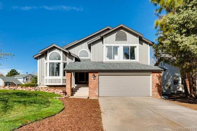 Highlands Ranch Single Family Home Under Contract: 1225 Goldsmith Drive