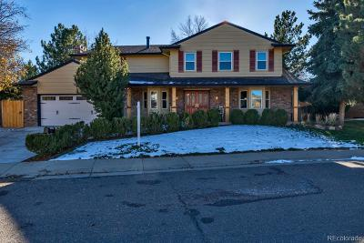 Centennial Single Family Home Under Contract: 2752 East Irwin Place
