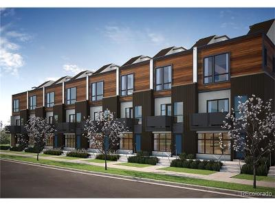 Denver Condo/Townhouse Active: 3274 West Conejos Place