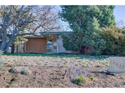 Northglenn Single Family Home Under Contract: 9840 Lunceford Lane