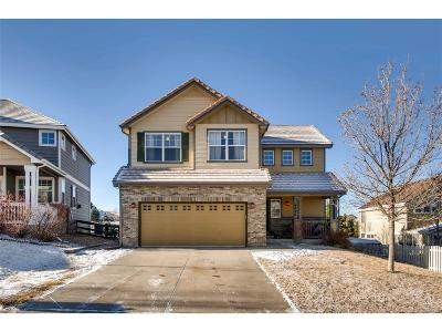 Castle Rock Single Family Home Under Contract: 4027 Brushwood Way