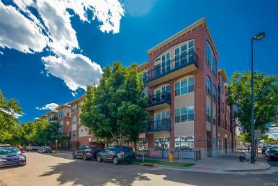 Denver Condo/Townhouse Under Contract: 1489 Steele Street #207