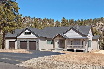 Pine Single Family Home Under Contract: 14752 Kit Carson Peak Trail