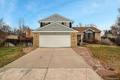 Centennial Single Family Home Active: 5314 South Pitkin Court