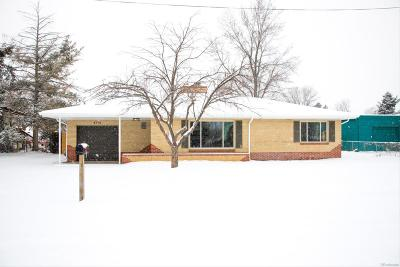 Golden Single Family Home Under Contract: 4775 Indiana Street