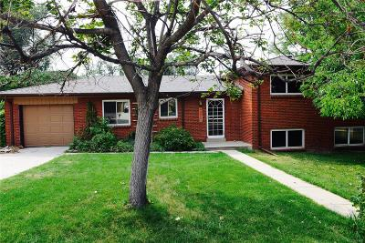 Wheat Ridge Single Family Home Under Contract: 3625 Holland Street
