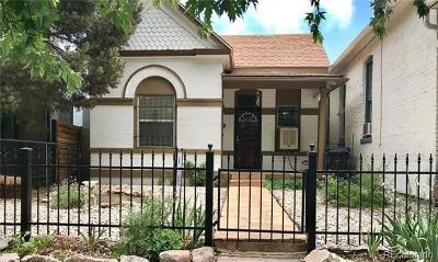 Denver Single Family Home Active: 3110 Wyandot Street