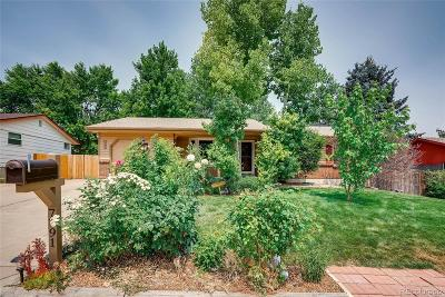 Arvada Single Family Home Active: 7791 Teller Street