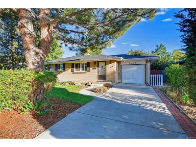 Littleton Single Family Home Active: 3448 West Alamo Avenue