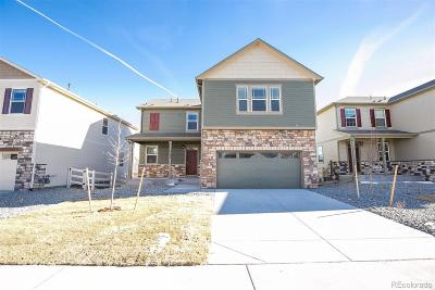 Castle Rock Single Family Home Under Contract: 5988 Sun Mesa Circle