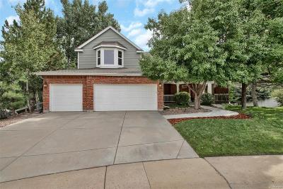 Castle Pines Single Family Home Under Contract: 7216 Middleham Place