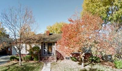 Englewood Single Family Home Under Contract: 3605 South Bannock Street